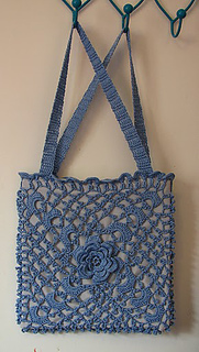 Irish Crochet Bag Free Pattern : Ravelry: Irish Crochet Opera Bag pattern by Bernhard ...
