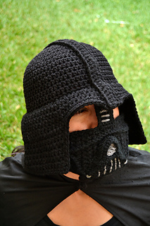 Free Crochet Pattern Star Wars Hats : Ravelry: Darth Vader Hat pattern by Juli Roldan Voncannon