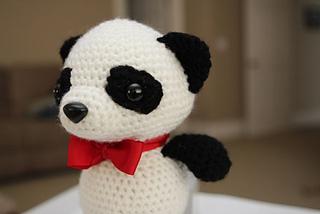Amigurumi Guinea Pig Pattern Free : Ravelry: Amigurumi Crochet Pattern - Baby Panda pattern by ...