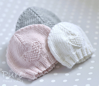 Knitting Pattern Preemie Baby Hat : Ravelry: Fay baby hat pattern by Linda Whaley