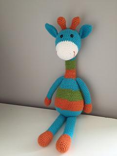 Amigurumi Hello Kitty Abeja : Ravelry: Joshua the Giraffe - Large Amigurumi Stuffed ...