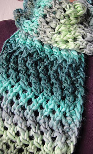 Free Crochet Pattern For Zig Zag Scarf : Ravelry: Lace Zig Zag Scarf pattern by Barbara Breiter