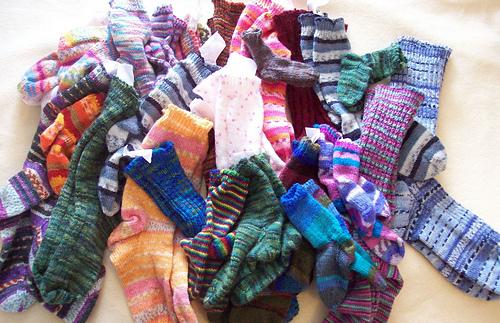 giant pile of socks - photo #13
