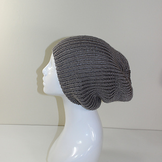 Ribbed Knit Hat Pattern On Circular Needles : Ravelry: Unisex Rib Slouch Hat Circular pattern by ...