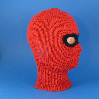 Balaclava Knitting Pattern 2 Needles : Ravelry: Chunky Ski Mask Balaclava pattern by Christine Grant