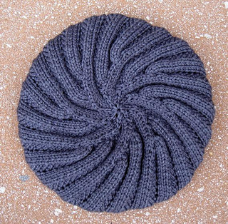 Ravelry: Annecy Beret pattern by Danielle Chalson