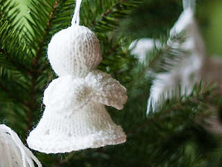 Ravelry: Christmas tree Angel pattern by Magdalena Roslaniec