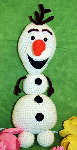 Ravelry: Olaf the Snowman Amigurumi pattern by Florence Yen