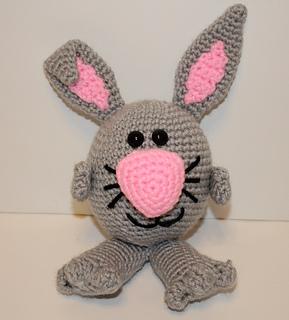 Amigurumi Yarn Pack : Ravelry: Bunny Noggin Pal Amigurumi pattern by Mary Smith