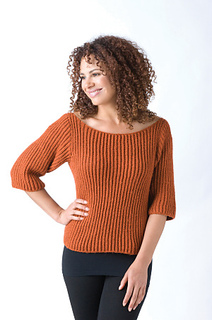 Ravelry: Knitting Encyclopedia Ribbed Sweater pattern by Claire Montgomerie