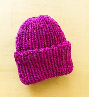 Ravelry Loom Double Knit Hat L0325 Pattern By Lion Brand