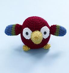 Amigurumi Yarn Type : Ravelry: Amigurumi Parrot pattern by Lion Brand Yarn