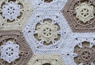 Free Crochet Patterns For Small Motifs : Ravelry: Riverhouse Blanket Motif pattern by Merrian Holland
