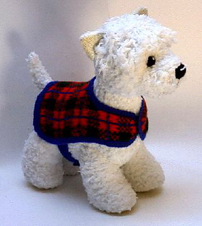 Ravelry: Perfect Pups, Westie pattern by Alan Dart