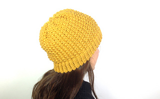 Ravelry Loom Knitted Seed Stitch Hat Pattern By Tuteate
