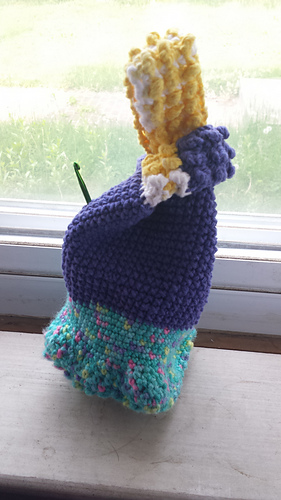 Crochet Japanese Knot Bag Pattern : Ravelry: Japanese Knot Project Bag pattern by Julie ...