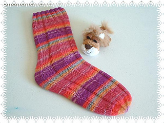 Ravelry: Tube Socks pattern by Mary Anne