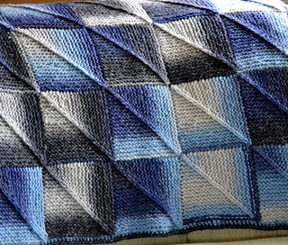 Ravelry Michelle S Mitered Squares Blanket Pattern By