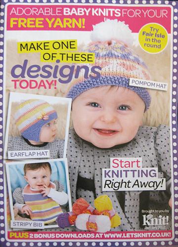 Knitting For Babies Magazine : Ravelry let s knit magazine january adorable
