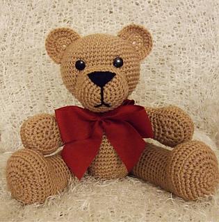 Ravelry: Teddy Bear pattern by Beverley Arnold