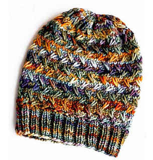 Authentic Knitting Board Patterns : Ravelry: Muir Woods Beanie pattern by Authentic Knitting Board