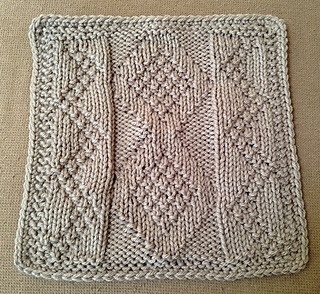 Ravelry Carbon Dating 9 Quot Knit Afghan Block Dishcloth