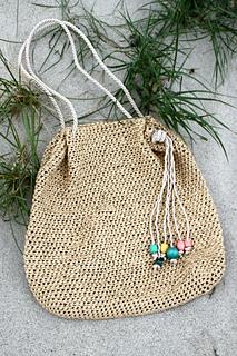 Ravelry Raffia Beach Bag Pattern By Kristina Kavaliauskiene