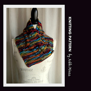 Ravelry: Impeccable Folklore Neckwarmer Scarf pattern by ...