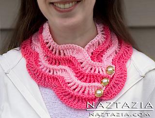 Crochet-ripple-cowl-serendipity-neck-warmer-neckwarmer-scarf-wavy_small2