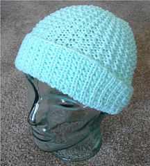 Ravelry: Reversible 2 needle Hat pattern by Frugal Knitting Haus