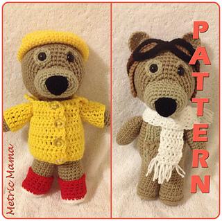 Amigurumi Hello Kitty Crochet Pattern : Ravelry: Charley Bear - 11