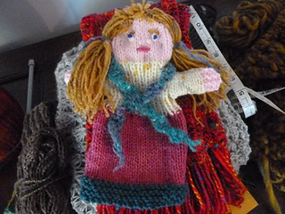 Ravelry: Knitted doll hand puppet pattern by Samaritans Purse