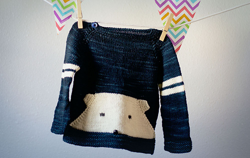 Teddy Sweater by Terri Kruse (Copyright Terri Kruse)