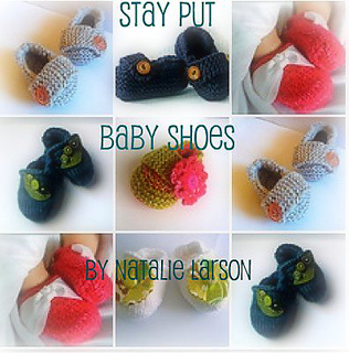 Ravelry: Stay Put Baby Shoes Ebook - patterns