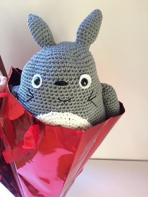 Nutmegknitter's Totoro for Violet