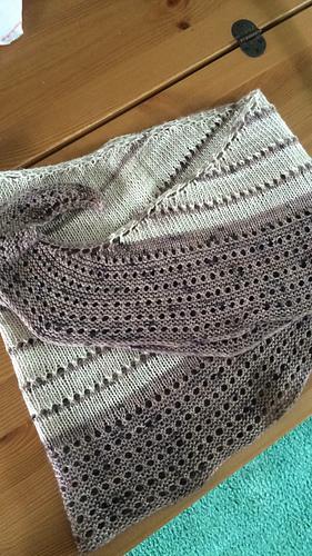 Nutmegknitter's FLOTUS shawl