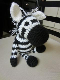 Ravelry Amigurumi Zebra Toy Free Crochet Pattern
