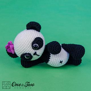 Ravelry: Zhen the Panda Amigurumi pattern by Carolina Guzman