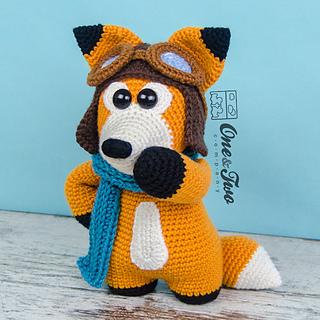 Little Fox Amigurumi : Ravelry: Howard the Little Fox pattern by Carolina Guzman
