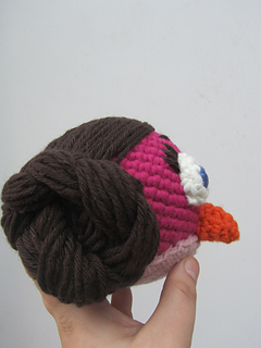 Amigurumi Angry Birds Star Wars : Ravelry: Angry Leia amigurumi - angry birds star wars ...
