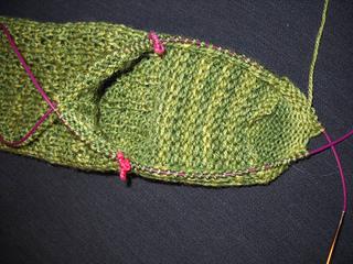 Knitting Instep Stitches : Ravelry: Three Leaf Clover Rib Socks pattern by Carolyn (Jill) Ferneau