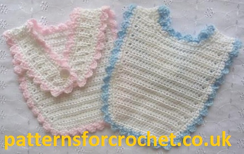 Ravelry: PFC02 Baby Bibs pattern by Patternsfor Designs
