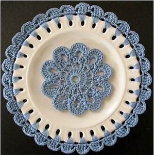Ravelry Embellished Plates Pattern By Knot Forgotten Studio