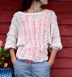 Ravelry: Late summer sweater / Sensommer Genser pattern by Anna & Heidi P...