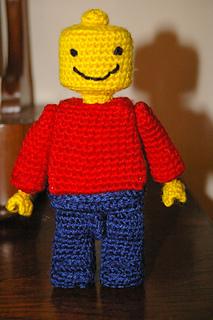 Free Crochet Pattern For Lego Hat : Ravelry: Lego Man pattern by Kristen Okeeffe