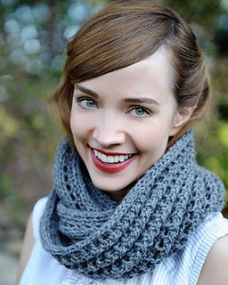 Dusty_snood_knitting_kit_worn_as_scarf_small2