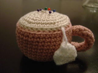 Ravelry: Amigurumi Tea Cup Pincushion pattern by Lion ...