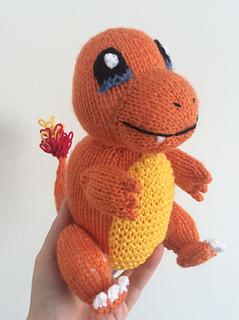 Ravelry: Charmander pokemon amigurumi pattern by Emma Whittle