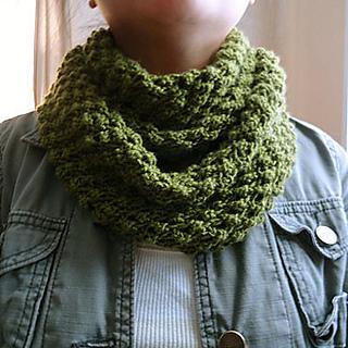 Easy Infinity Scarf Knitting Pattern Circular Needles : Ravelry: Budding Infinity Scarf pattern by Linda Thach