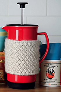 Ravelry Cafetiere Coffee Cosy Pattern By Jenny Lord